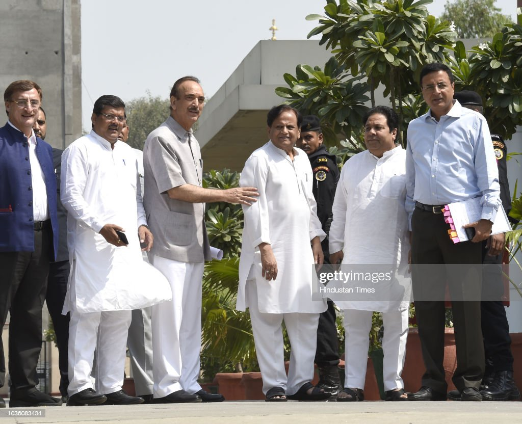 Congress Delegation Meets CAG On Rafale Issue