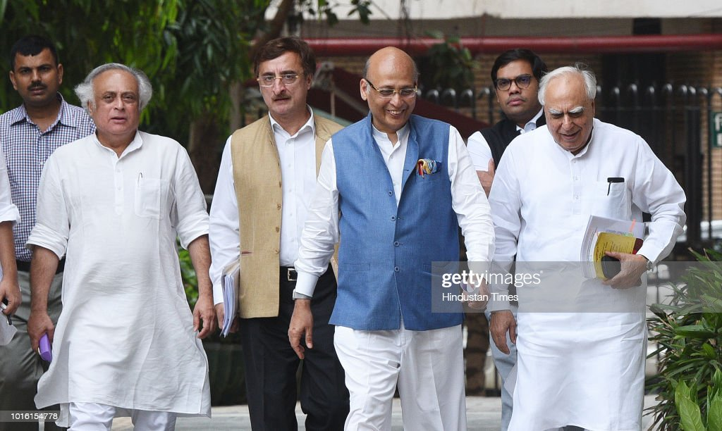 Congress Leaders Aapproach EC Against BJP President Amit Shah