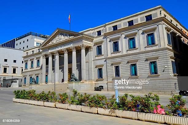 congress of deputies madrid spain es - congress of deputies stock pictures, royalty-free photos & images