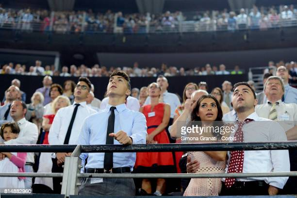 Congress of Jehovah's Witnesses at PalaLottomatica on July 15 2017 in Rome Italy