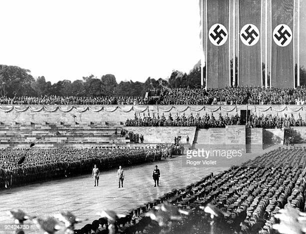 Congress of the Nazi party Overview Centre Hitler Nuremberg on September 12 1938