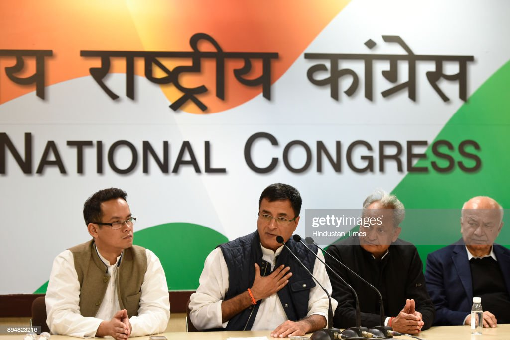 Congress Press Conference After The Results Of Gujarat And Himachal Pradesh Elections