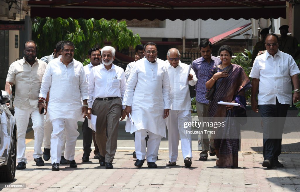 IND: YSR Congress Party Meets Election Commission On The Issue Of Fair Counting Of Votes In Andhra Pradesh