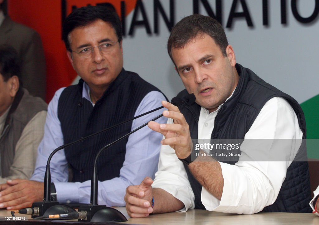 Press Conference by Rahul Gandhi : News Photo