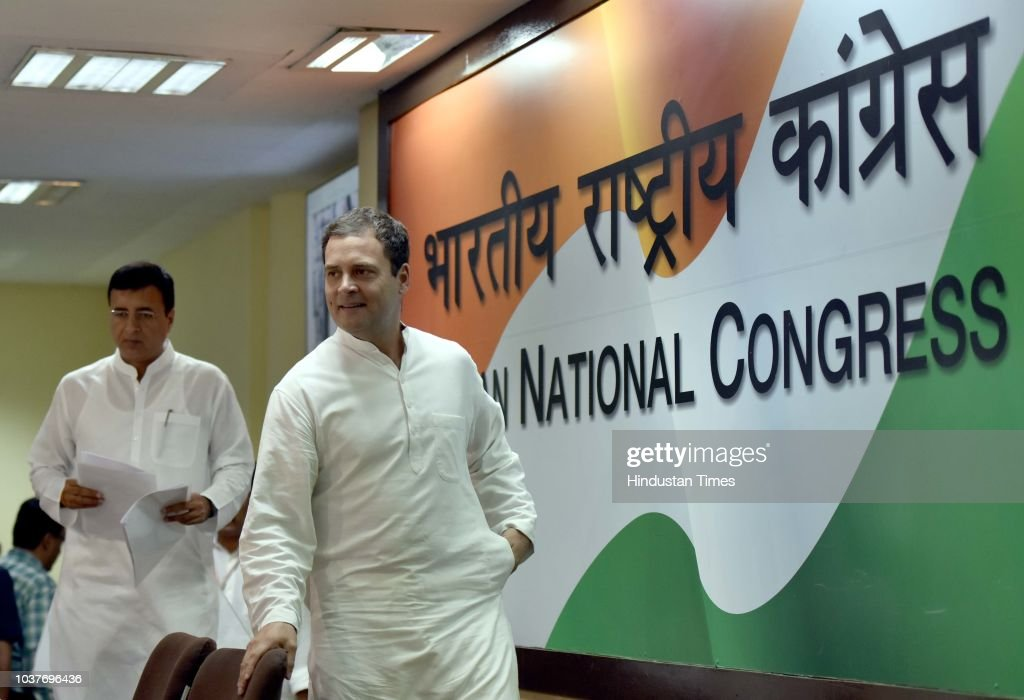 Congress Party President Rahul Gandhi Addresses Press Conference Over The Rafale Deal