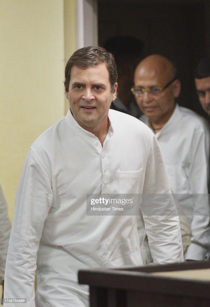 IND: Congress President Rahul Gandhi Accepts Defeat In Lok Sabha Polls