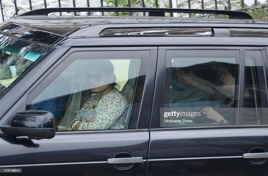 Congress president Sonia Gandhi and her daughter Priyanka Gandhi Vadra arrived at the highend resort of Wild Flower Hall on a threeday private visit..