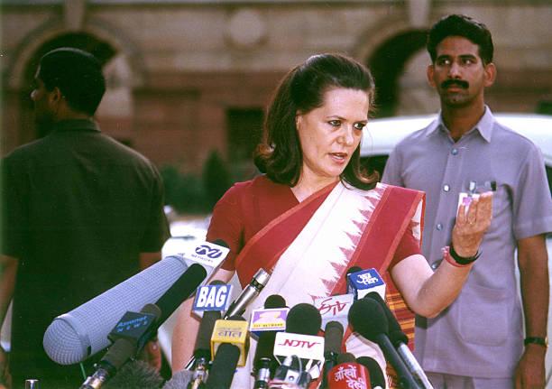 Image result for sonia gandhi 1999
