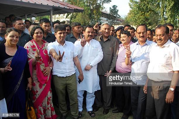 Congress rebel Shaila Rani Rawat Amrita Rawat Pradeep Batra Harak Singh Rawat Vijay Bahuguna Umesh Sharma Kau Subodh Uniyal and Shailendra Mohan...