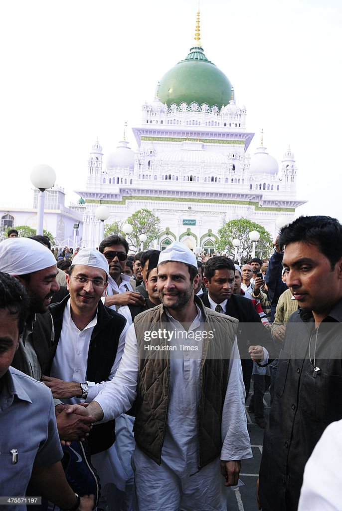 Rahul Gandhi Kicks Off Lok Sabha Polls Campaign In Uttar Pradesh : News Photo