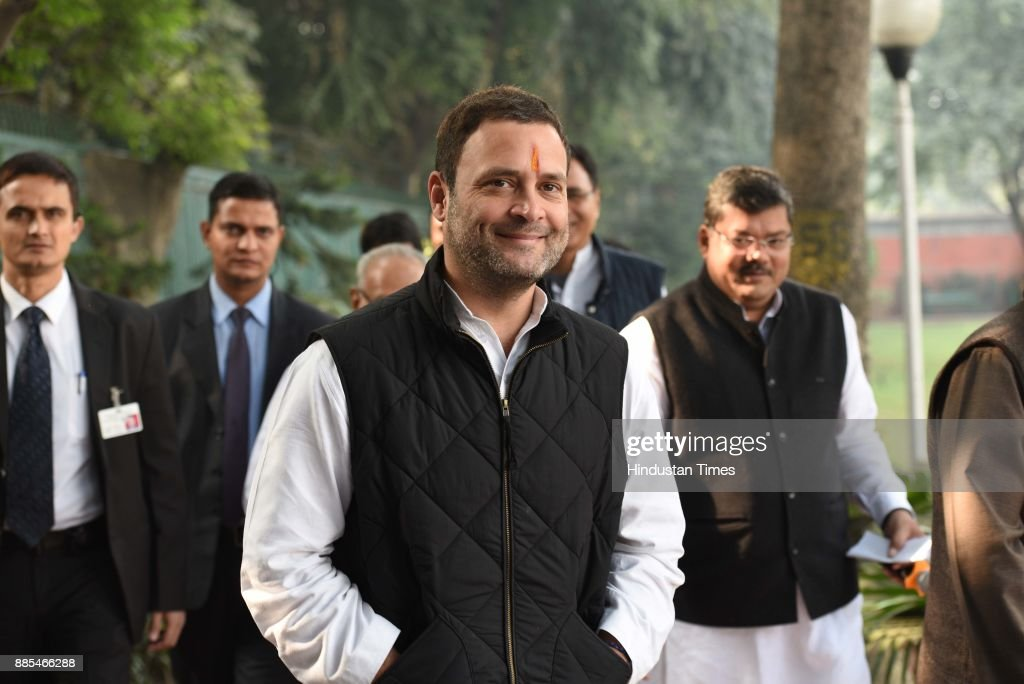 Congress President Election: Congress Vice President Rahul Gandhi Files Nomination