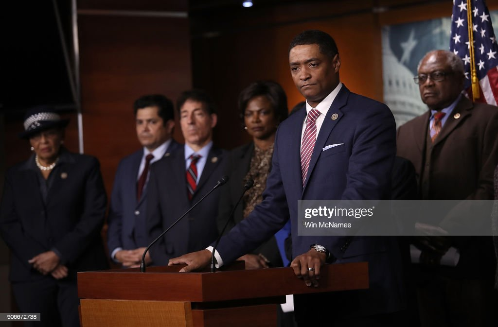 "Congressional Black Caucus Calls For Censure Of Trump's ""Racist"" Comments"