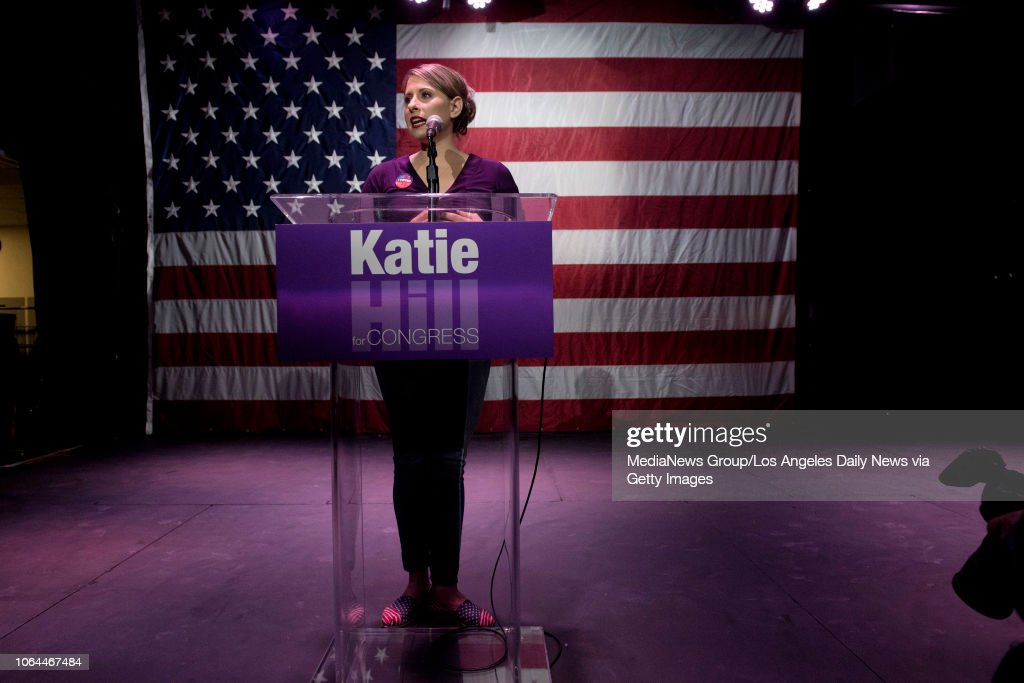 Congressional candidate Katie Hill... : News Photo