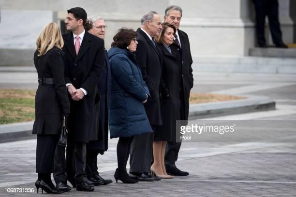 Congressional leadership including House Speaker Rep. Paul Ryan, Senate Majority Leader Sen. Mitch McConnell, Senate Minority Leader Sen. Chuck...