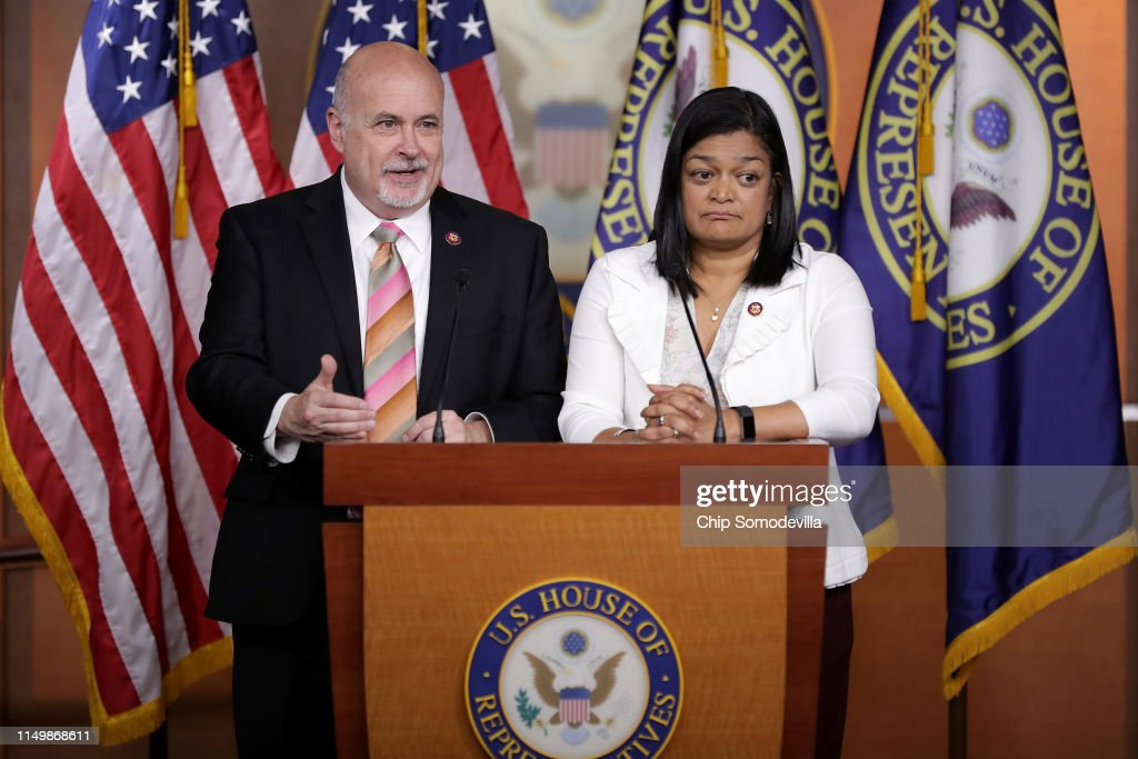 DC: Congressional Progressive Caucus Addresses The Media To Highlight Priorities