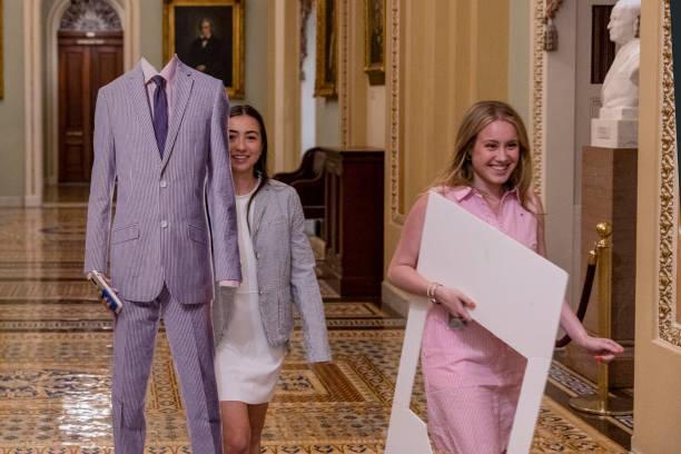 DC: Senator Bill Cassidy Hosts National Seersucker Day Event On Capitol Hill