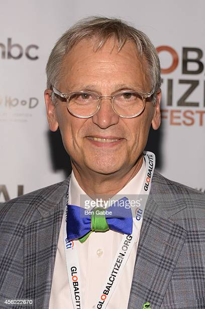 Congressman Earl Blumenauer attend the 2014 Global Citizen Festival to end extreme poverty by 2030 at Central Park on September 27 2014 in New York...