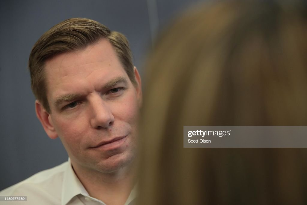 IA: California Congressman Eric Swalwell Holds Event In Iowa