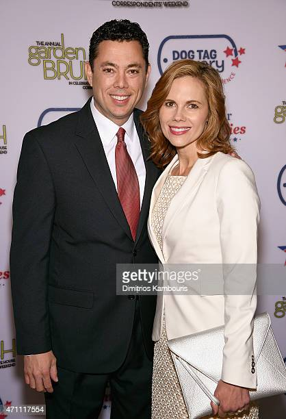 Congressman Jason Chaffetz and Julie Chaffetz attend the 2015 Annual Garden Brunch at the BeallWashington House on April 25 2015 in Washington DC