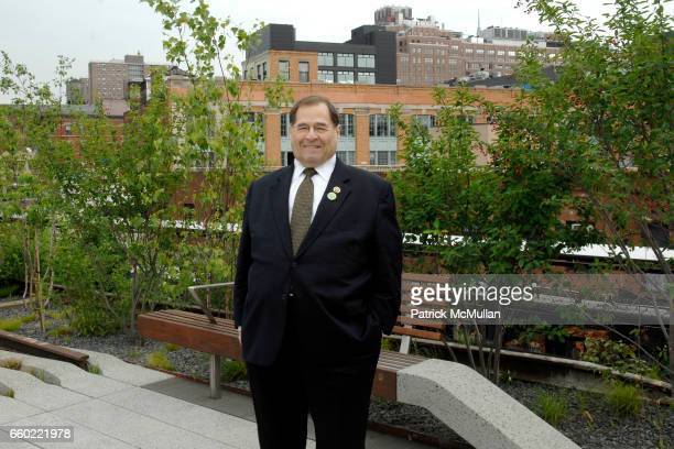 Congressman Jerroid Nadler attends Opening Ceremony for Section One of the HIGHLINE at Highline on June 8 2009 in New York City