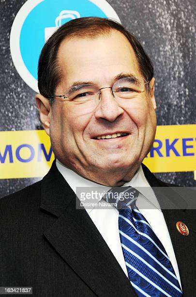 Congressman Jerrold Jerry Nadler attends 'The VH1 Save The Music Foundation Family Day 2013' at The Anderson School on March 9 2013 in New York City