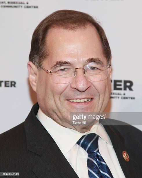 Congressman Jerrold Nadler attends the Center Dinner Annual Gala Honoring Edie Winsor at Cipriani Wall Street on April 11 2013 in New York City
