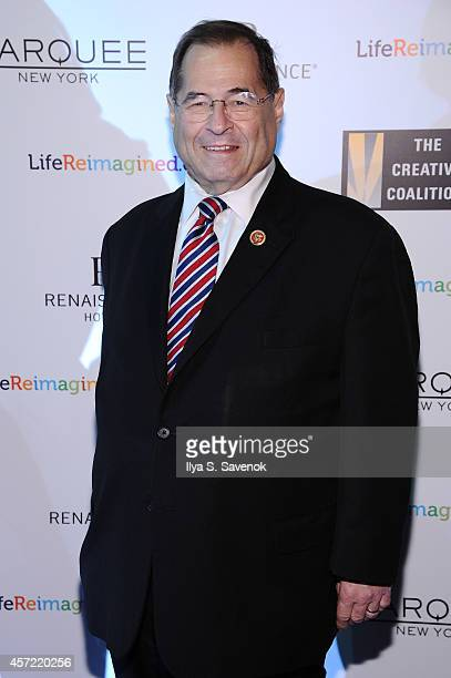 Congressman Jerrold Nadler attends the Creative Coalition's spotlight awards dinner gala at Marquee on October 14 2014 in New York City