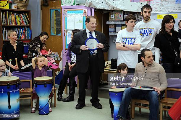 Congressman Jerrold Nadler attends the 'VH1 Save The Music Foundation Family Day' at The Anderson School on March 9 2013 in New York City