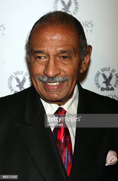 Congressman John Conyers Jr arrives at the 7th Directors Guild of America Honors at the DGA Theater on October 16 2008 in New York City