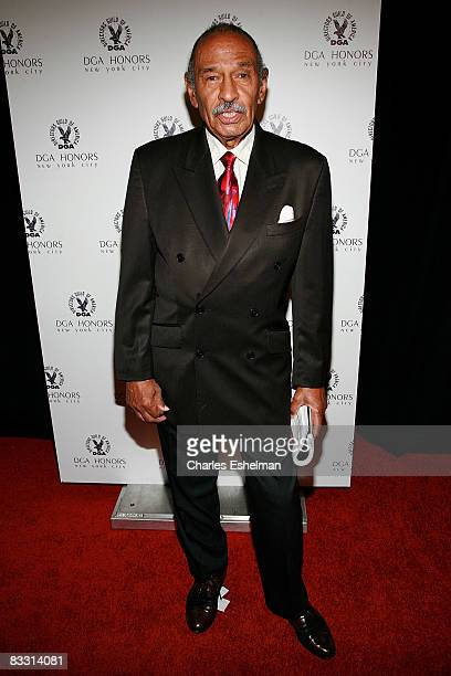 Congressman John Conyers Jrattends the 7th Directors Guild of America Honors at the DGA Theater on October 16 2008 in New York City