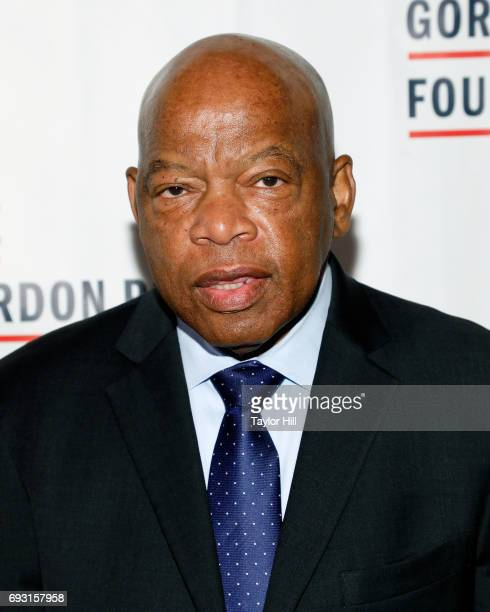 Congressman John Lewis attends the 2016 Gordon Parks Foundation Annual Gala at Cipriani 42nd Street on June 6 2017 in New York City