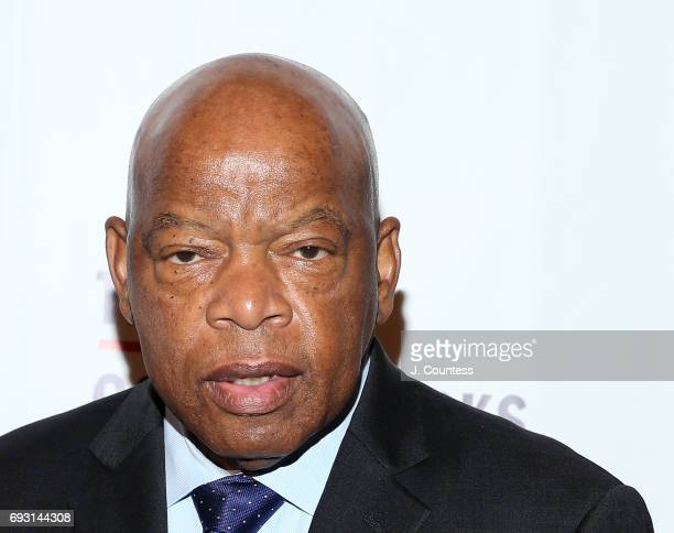Congressman John Lewis attends the 2017 Gordon Parks Foundation Awards Gala at Cipriani 42nd Street on June 6 2017 in New York City