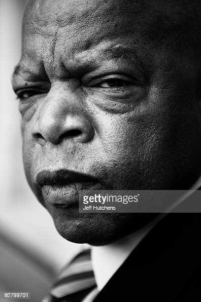 Congressman John Lewis is photographed in his offices in the Canon House office building on March 17, 2009 in Washington, D.C. The former Big Six...