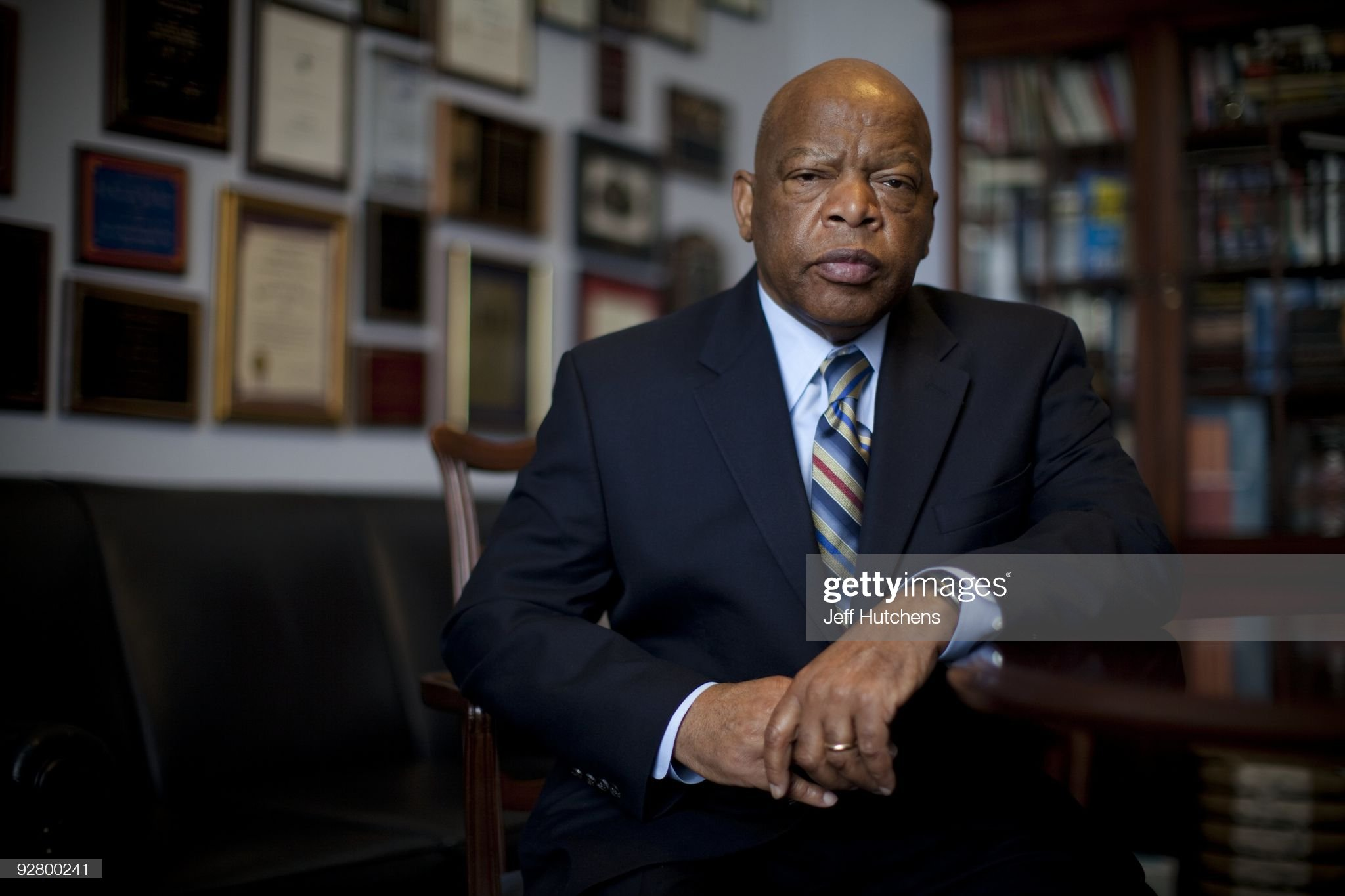 Congressman John Lewis : News Photo