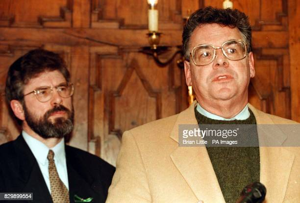 US Congressman Peter King was among a number of American Congressmen who met local party leaders including Sinn Fein President Gerry Adams on their...