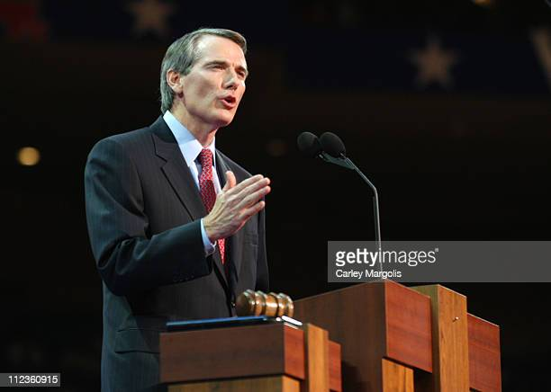Congressman Rob Portman during 2004 Republican National Convention - Day 3 - Inside at Madison Square Garden in New York City, New York, United...