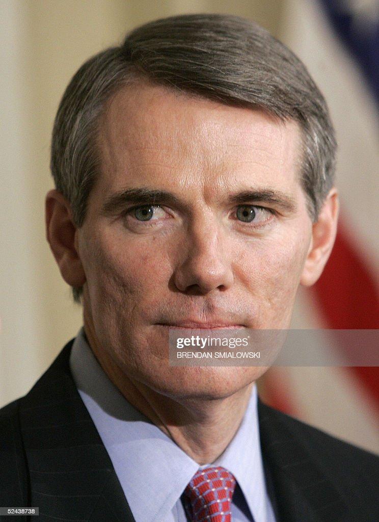 Bush Nominates Rob Portman As U.S. Trade Representative