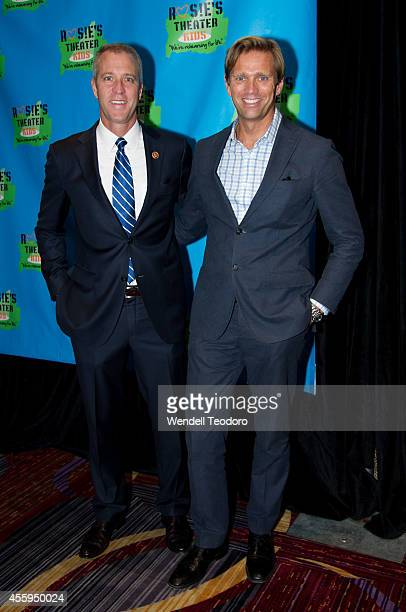 Congressman Sean Maloney and Randy Florke attends the 11th Annual Rosie's Theater Kids Benefit Gala at the New York Marriott Marquis on September 22...