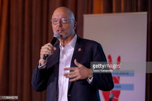 Congressman Ted Deutch attends the TOMS' End Gun Violence Together Rally at Union Market on February 11 2019 in Washington DC