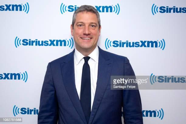 Congressman Tim Ryan visits SiriusXM Studios on October 22, 2018 in New York City.
