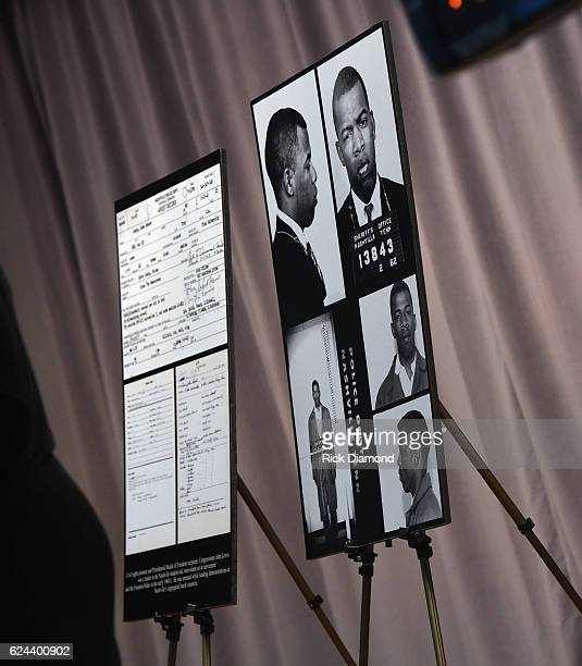 Congressman/Civil Rights Icon John Lewis first time images and his arrest record for leading a nonviolent sitin at Nashville's segreated lunch...