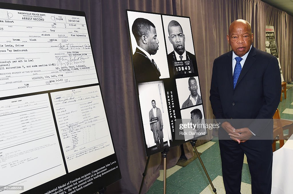 Nashville Public Library Awards Civil Right Icon Congressman John Lewis Literary Award : News Photo