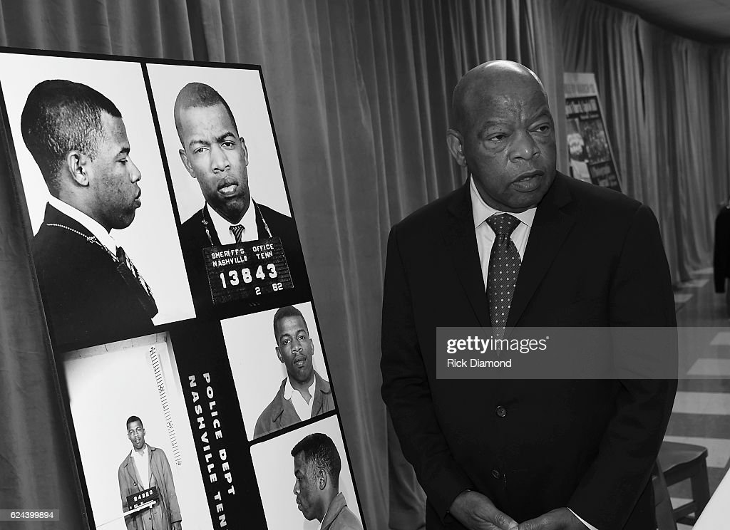 Nashville Public Library Awards Civil Right Icon Congressman John Lewis Literary Award : News Photo