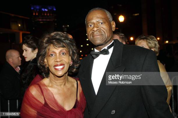 Congressmember Maxine Waters and husband Ambassador Sydney Williams