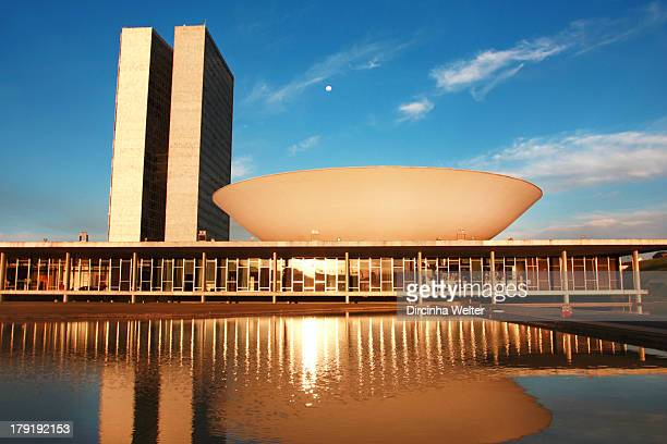 CONTENT] Congresso Nacional do Brasil The National Congress a political institution which exercises the legislative branch was designed by architect...