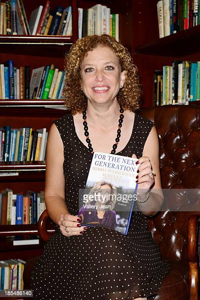 Congresswoman / Author Debbie Wasserman Schultz speaks and signs copiesof her book For the Next Generation A WakeUp Call to Solving Our Nation's...