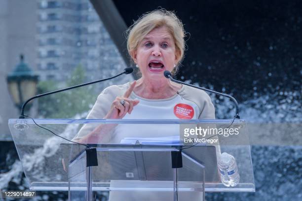 Congresswoman Carolyn Maloney - Moms Demand Action hosted a Recess Rally and community gathering at Foley Square to honor the victims of gun violence...