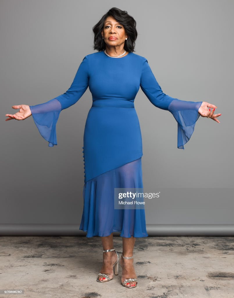 Maxine Waters, Essence, December 2017/January 2018