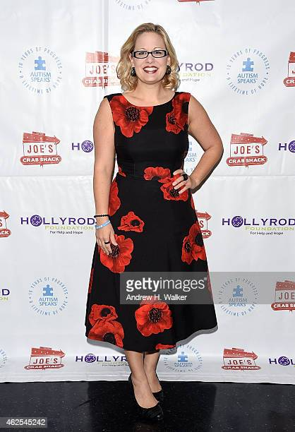 S Congresswoman Kyrsten Sinema attends the Autism Speaks and HollyRod Foundation Super Kid Honors 2015 at Joe's Crab Shack on January 30 2015 in...