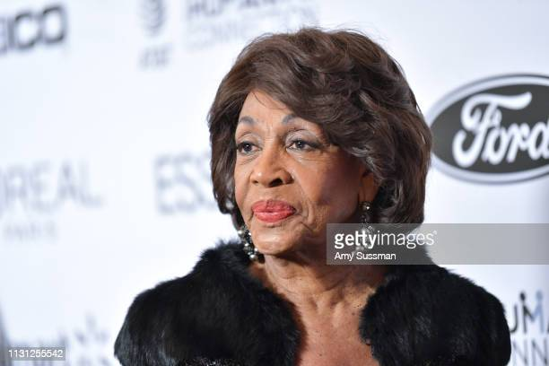 Congresswoman Maxine Waters attends 2019 Essence Black Women In Hollywood Awards at the Beverly Wilshire Four Seasons Hotel on February 21 2019 in...